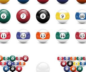Game Balls free vector set