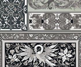 Classic pattern vectors graphics