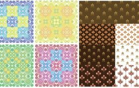 Lovely background pattern vector