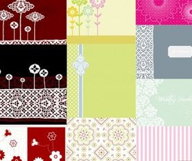 simple cute pattern vectors