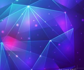 Blue abstract background Free shiny vector