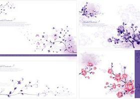 elegant flower pattern vector