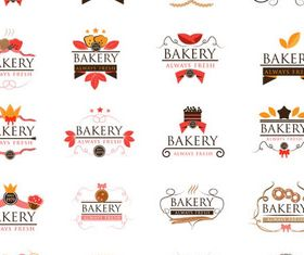 Bakery Labels free vector