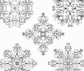 Ornamental Vintage Elements 16 vector