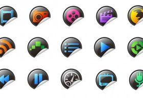 exquisite icons vector