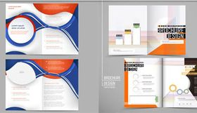 Business Brochures 3 vector