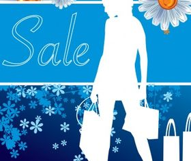 Shopping vectors graphic