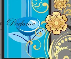 Perfume advert vector