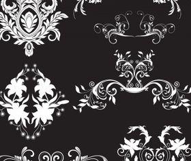 Floral elements 12 Illustration vector