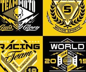 T-shirt Design Elements vector