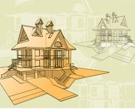 Architectural series vector