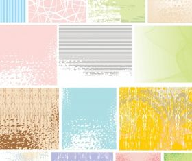 Texture background vector set