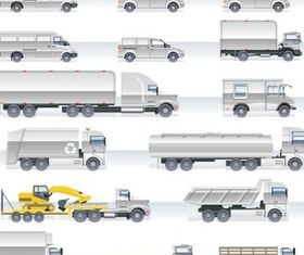heavyduty vehicles 2 vector