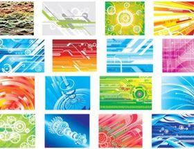 Hightech digital background pattern vector