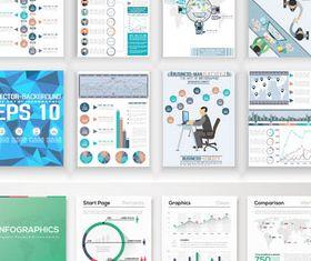 Business Brochures vectors graphics