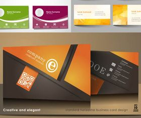 Business Cards Designs 14 vector material