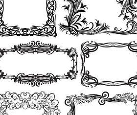 Ornamental Frames 13 vector
