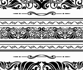 Floral Borders free 10 vector design