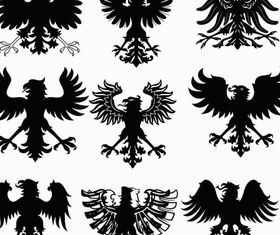 Heraldic Signs free vector graphics