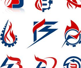 Flame Logotypes vectors graphics