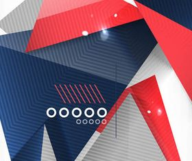 Abstract Triangles Backgrounds vector