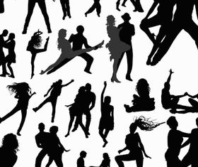 Dancing People Set 5 vector