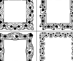 Ornamental Frames 12 design vectors