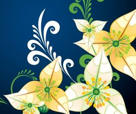 Floral background 37 vector