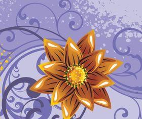Floral background 32 vector