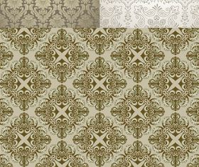 Vintage Style Patterns 39 shiny vector