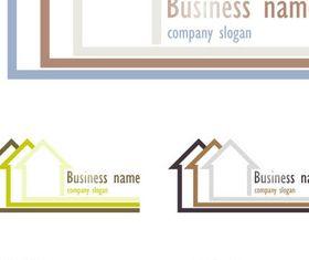 Real Estate Logo Set 11 vector