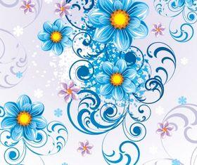 Floral background 22 vector