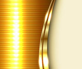 Golden Shiny Backgrounds vector