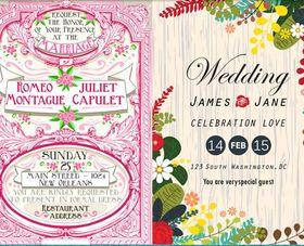 Wedding Vintage Backgrounds 6 vector