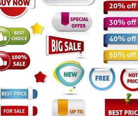 Sale Design Elements vectors