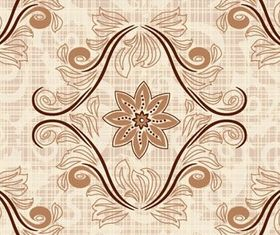 Retro pattern background 2 vector