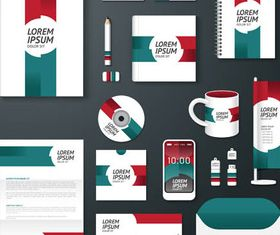 Corporate Stationery Designs 6 vector