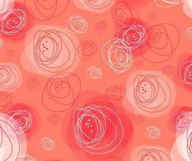 Sketch circle pattern Free vector