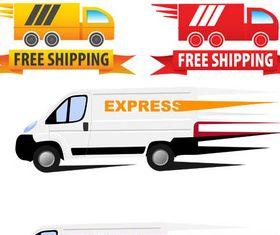 Shipping Symbols vector graphic