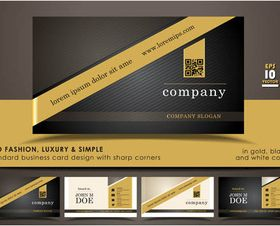 Business Cards Designs 12 vector