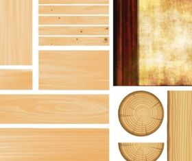 Wood grain background 02 Illustration vector