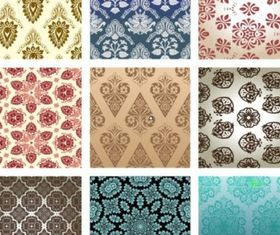 pattern wallpaper 01 vector