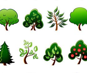 Trees free 2 vector material