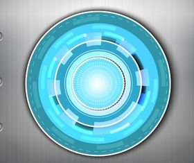 Abstract circle background vector set