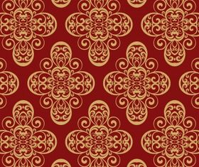 floral background 12 vectors material