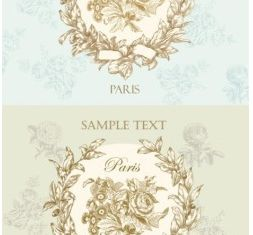 Retro pattern background design vectors