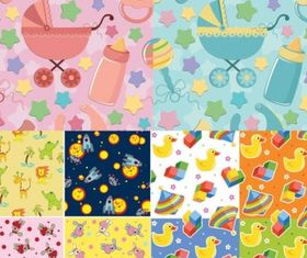 nfant baby cloth background color vector
