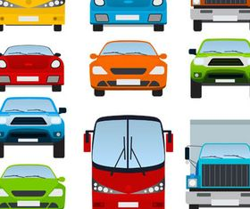 Cartoon Transport vector design