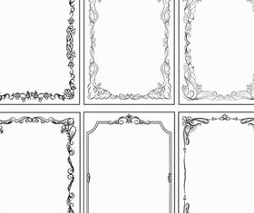 Vintage Ornamental Frames 10 vector