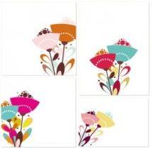 flower theme vector
